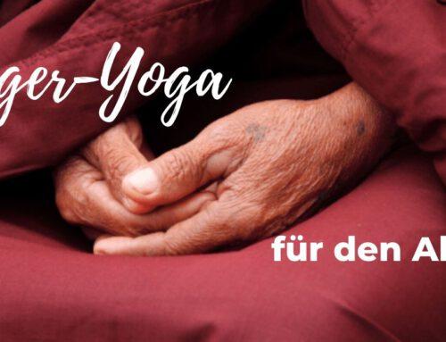 Finger-Yoga für den Alltag