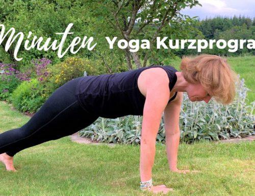 11 Minuten Yoga-Kurzprogramm