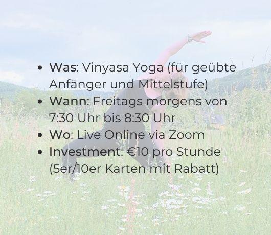 Katharina Holch - Sunrise Yoga - Details