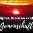 Katharina Holch - Blog - Gipfel, Grenzen und Gemeinschaft