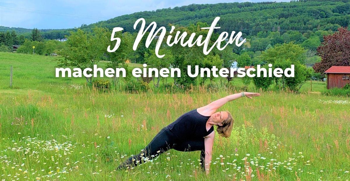 Katharina Holch - Blog - 5 Minuten machen einen Unterschied